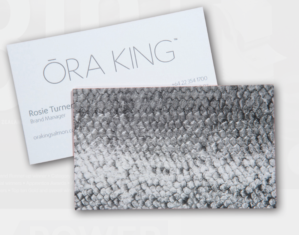 Ora king business cards 2018 category winner business print ora king business cards reheart Choice Image